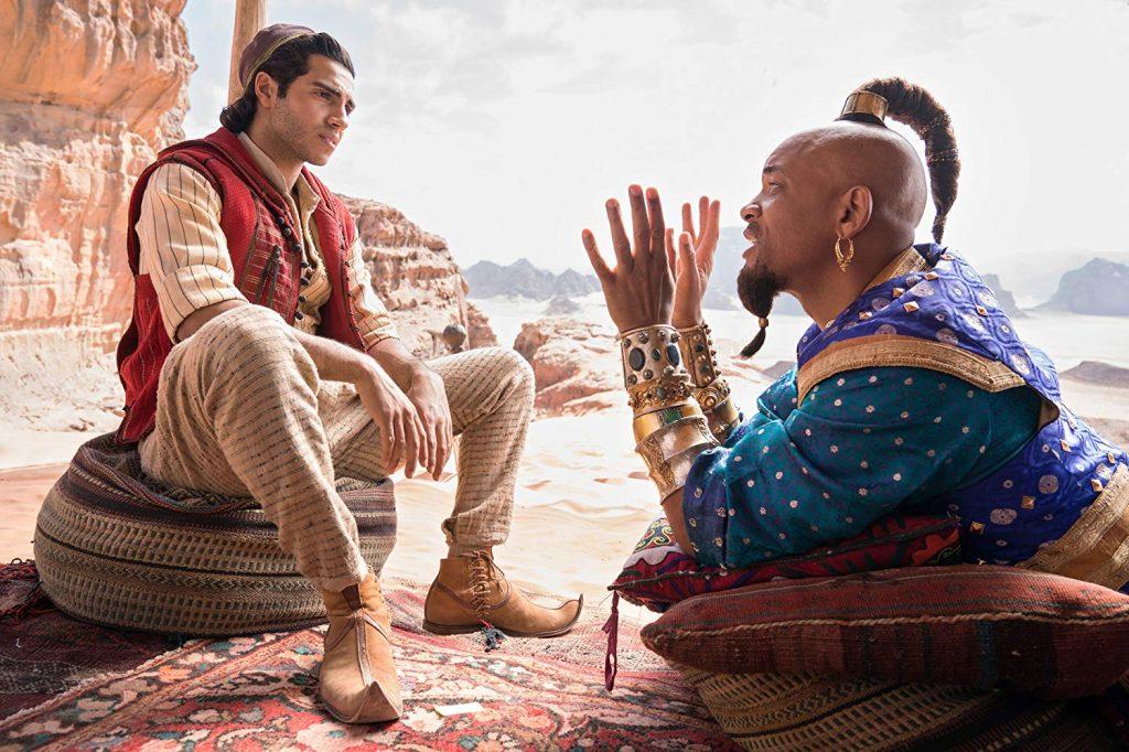 Jin Biru dalam film Aladdin
