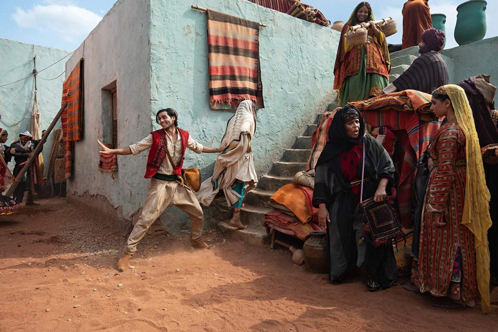 Suasana latar dalam film Aladdin
