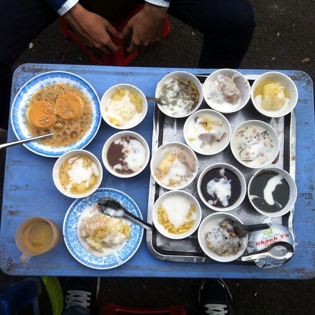 Macam-macam Chè di Che Mam Khanh Vy
